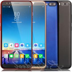 """6.0"""" Cheap Large Screen Android 7.0 Cell Phones 4Core 2SIM S"""
