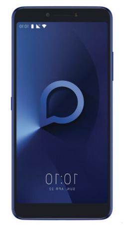 "ALCATEL 3V - Unlocked 4G LTE 6"" Display Fingerprint Dual Mai"