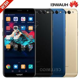 "Honor 7X  5.93"" Face Unlock Dual Sim 4G LTE GSM Factory Unlo"
