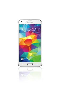 Samsung Galaxy S5 Shimmery White - No Contract Phone