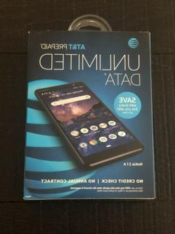 AT&T Nokia 3.1 A Prepaid Smartphone 32GB - Black - Unlimited