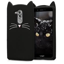 kwmobile Cat Silicone Case for Huawei Honor 6X / GR5 2017 /