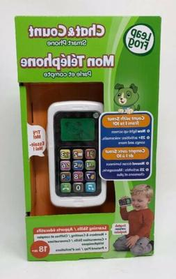 LeapFrog Chat and Count Phone White NEW IN BOX Toddler Learn