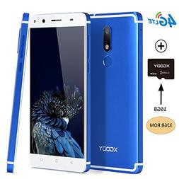 "Xgody D22 Smartphone Android 7.0 Nougat 5.5"" 4G LTE Quad Cor"
