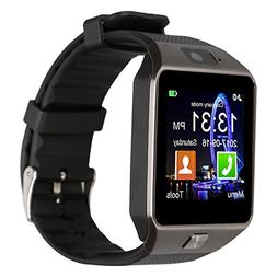 Padgene DZ09 Bluetooth Smart Watch with Camera for Samsung S