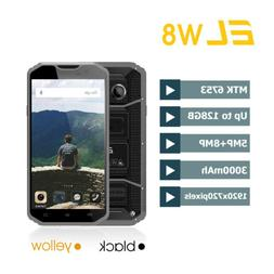 "E&L W8 4G Smartphone Waterproof 5.5"" MTK6753 Android 7.0 Oct"