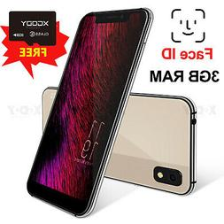 Factory Unlocked 4G 3G 2G GSM Dual SIM Android 8.1 Cell Smar