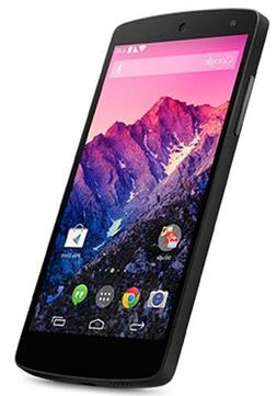 LG Google Nexus 5  16GB , 3G, 8MP, KitKat Factory Unlocked W