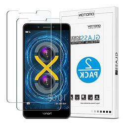 OMOTON Tempered Glass Screen Protector Compatible Huawei Hon