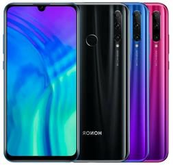 "Huawei Honor 20 Lite HRY-LX1T 128GB  6.21"" Black Blue Red"