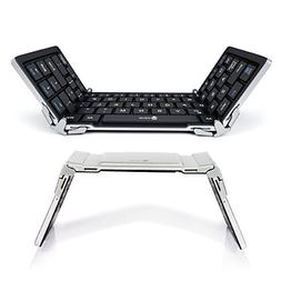 iClever Bluetooth Keyboard, Foldable Wireless Keyboard with