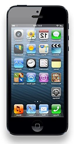 Apple iPhone 5, GSM Unlocked, 16GB - Black