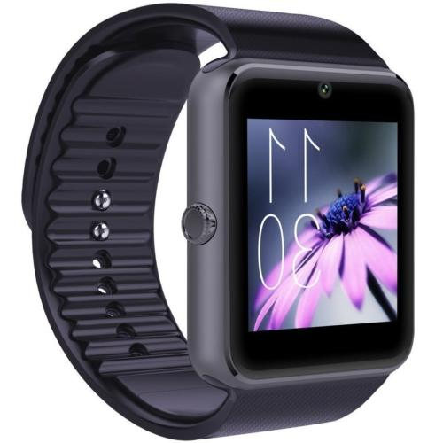 CNPGD  All-in-1 Smartwatch and Watch Cell Phone GT-Black