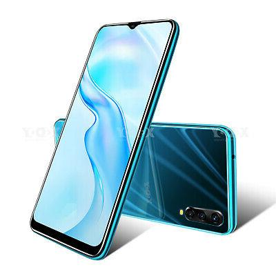"""7.2"""" Unlocked Android 9.0 T-Mobile Cell Phone Dual SIM Quad Core"""