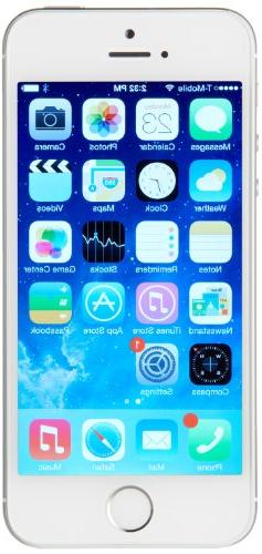 Apple iPhone 5S 32 GB Unlocked, Silver