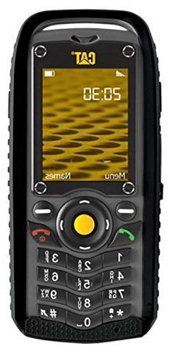 Caterpillar B25 DUAL SIM Black GSM QuadBand Unlocked Cell Ph