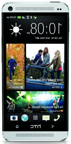 HTC One M7 32GB Unlocked GSM 4G LTE Android Cell Phone - Sil