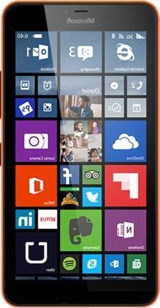 Microsoft Lumia 640 XL LTE Dual Sim Orange 8GB  Unlocked int
