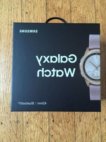 Samsung - Galaxy Watch Smartwatch 42mm Stainless Steel - Ros