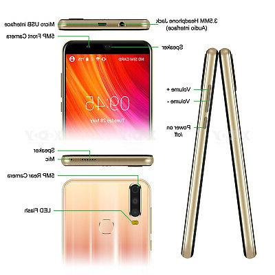 Android 8.1 Unlocked Inch Core Cell Phones