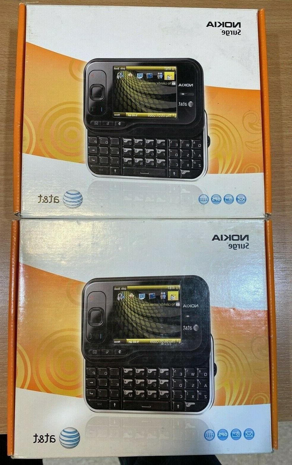 at and t 6790 surge black smartphone