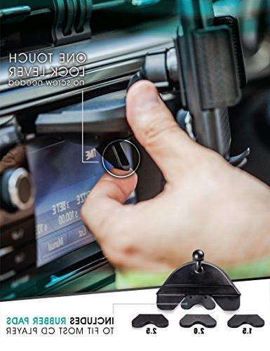 """Smartphone Holder for 6, 5, 4, Galaxy S3 S4 S6 Note 3 5 LG G3 G5 G6 up to 6"""""""