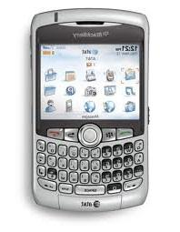 BlackBerry Curve 8310 No Contract GPS GSM Smartphone Titaniu