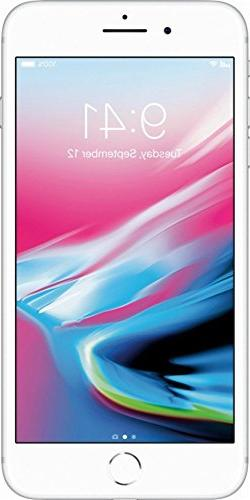 Apple iPhone 8 Plus, GSM Unlocked, 256GB - Silver