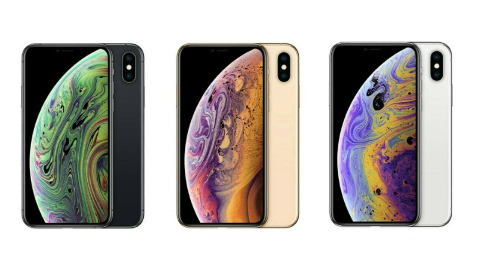 iphone xs 256gb silver gold space gray