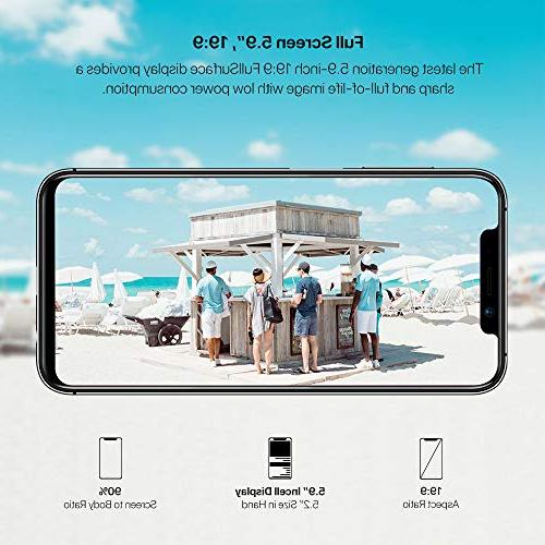 UMIDIGI Mobile One 32GB Cell Ram Dual-SIM - 16MP Selfie,12MP Dual - Battery,Side Fingerprint
