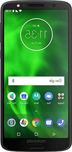 Motorola G6 – 32 GB – Unlocked  – Black -  - PAAE0000U