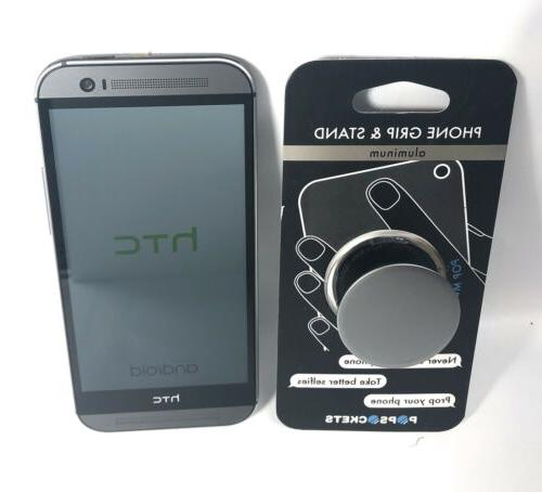New HTC One - 32GB Gray Android Smartphone