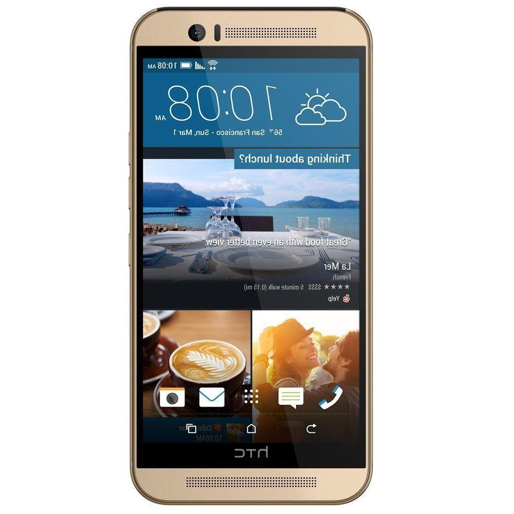 New AT&T LTE Android Smartphone Gold