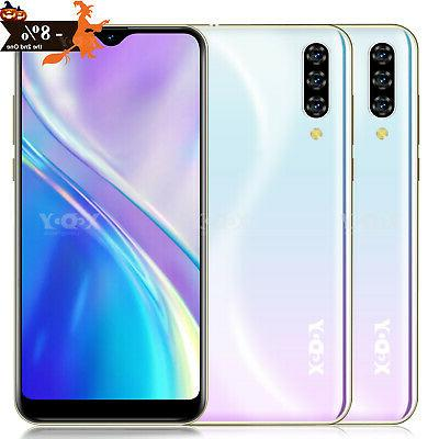 Note 7 Android 9.0 Cell Phone Unlocked Dual SIM Smartphone F