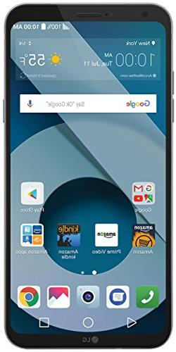 LG Q6 - 32 GB - Unlocked  - Platinum - Prime Exclusive - wit