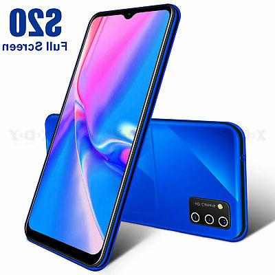 6.6 In Unlocked Smartphone Android 9.0 Cell Phone Phablet AT