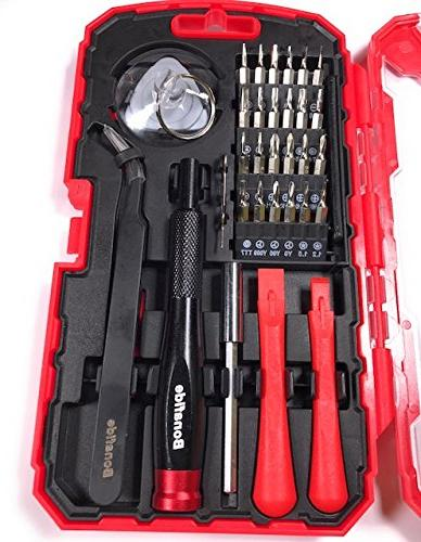 Bonafide Hardware Phone Repair Tool Kit 32 Piece Set Driver Tools