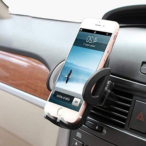 Car Air Vent Holder Cradle for XS Max 8 8 Plus 7 SE 6s 6 6 Galaxy S6 LG Nexus Sony and More…