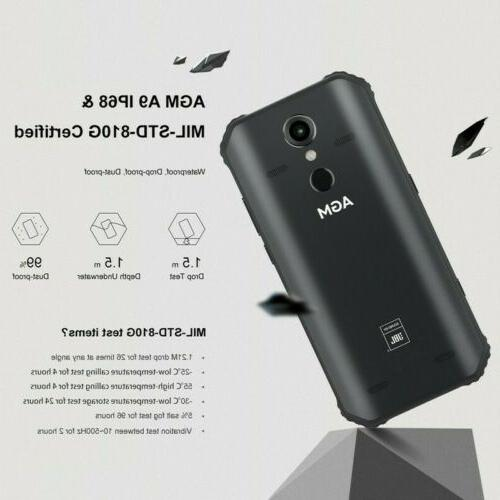 Unlocked 5.99''AGM A9 32GB/64GB Android8.1 LTE Smartphones Waterproof