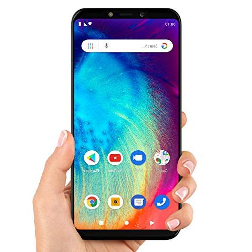 BLU V0390WW Go HD+ Display Smartphone with Android Pie
