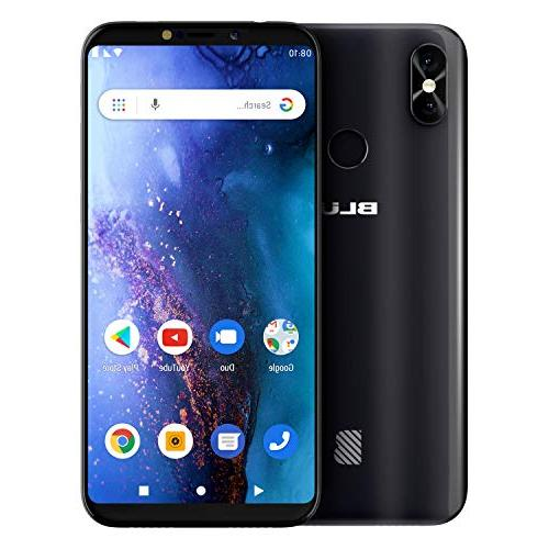 BLU V0390WW Black Go Smartphone with Android 9 Pie