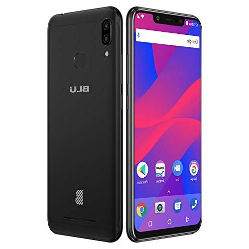 "BLU 6.2"" Display 32GB+3GB –Black"