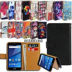 Leather Smart Stand Wallet Case Cover For Various BLU SmartP
