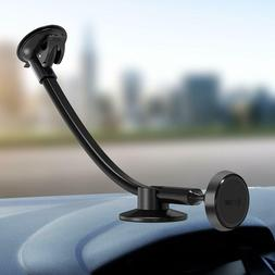 IPOW Long Arm Magnetic Windshield Car Mount Phone Holder Cra