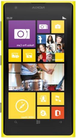 Nokia Lumia 1020 32GB GSM Unlocked Windows Smartphone - Inte
