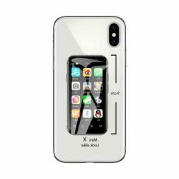 Mini iPhone X Look Alike 4G Android SmartPhone Tiny XS Small