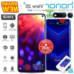New & Sealed Factory Unlocked HONOR View 20 Blue 256GB Andro