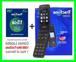 new tracfone myflip a405dl prepaid flip phone