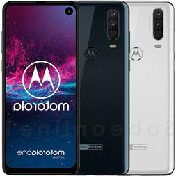Motorola One Action 128GB 4GB RAM 	XT2013-2 Dual Sim  6.3""