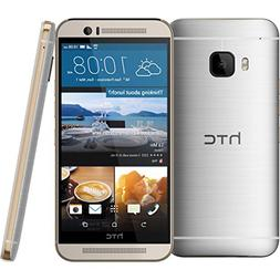 """HTC One M9+ Plus 32GB Gold on Silver, 5.2"""", GSM Unlocked Int"""